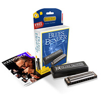 Hohner Blues Bender Harmonica, Enthusiast Range, A