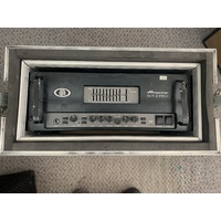 Ampeg SVT-2 Pro with suspended rack case (used)
