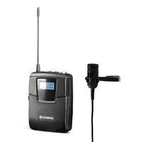 SM6100MC16566 Chiayo Bodypack Transmitter    with MC16 Lapel Microphone     566 mHz